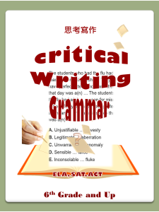 20. Critical Writing & Grammar