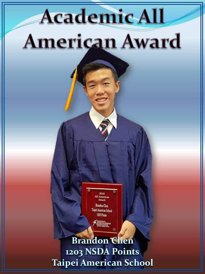 Brandon - AAA Award 1